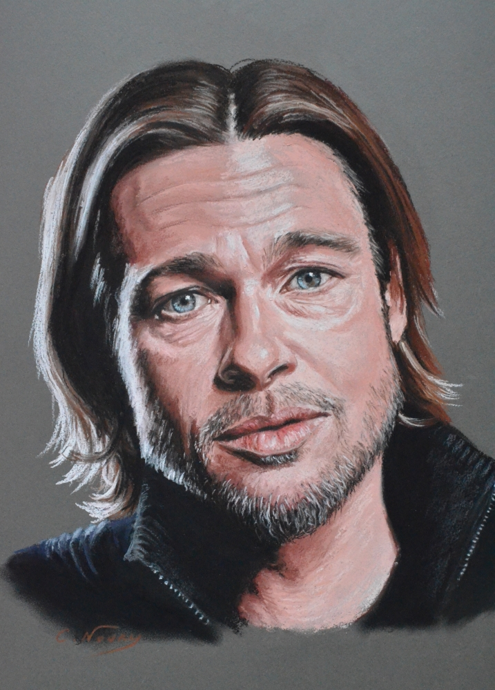 Brad Pitt by Andromaque